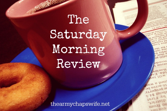 "The Saturday Morning Review–""Faith, Hope, Love, and Deployment"""
