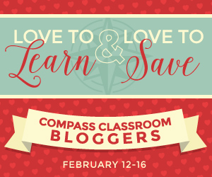 Save on curriculum from Compass Classroom during their Love to Learn sale!
